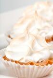 Lemon Pie Miniature Stock Photo