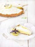 Lemon pie. Stock Images