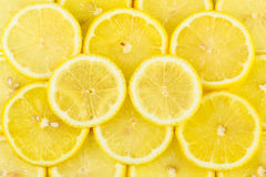 Lemon. A Lemon pieces pile together Royalty Free Stock Image