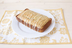 Lemon Poppy Seed Bread Stock Images