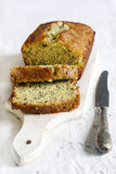 Lemon and poppy seed cake royalty free stock photos