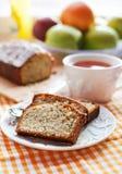 Lemon poppy seeds cake Stock Image