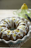 Lemon Pound Cake Stock Photography