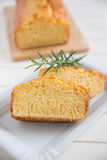 Lemon Pound Cake with Rosemary Stock Images