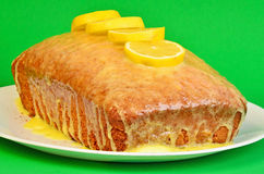 Lemon Pound Cake Royalty Free Stock Image