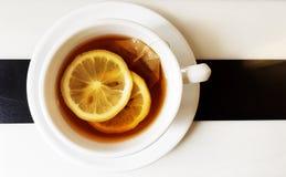 Lemon black tea Royalty Free Stock Photography
