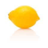 Lemon with reflection Stock Image