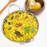 Lemon Rice Stock Image