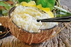 Lemon rice Stock Photo