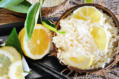 Lemon rice Stock Photography