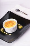 Lemon and ricotta souffle Royalty Free Stock Photos