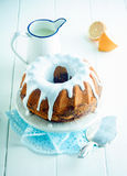 Lemon ring cake Royalty Free Stock Image