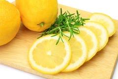 Lemon and rosemary Stock Photo