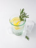 Lemon, rosemary fizz Royalty Free Stock Photo