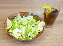 Lemon salad Stock Images