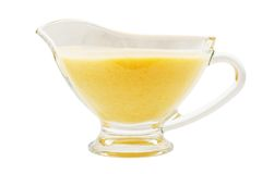 Lemon sauce Royalty Free Stock Photos