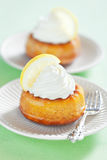 Lemon savarin Royalty Free Stock Photo