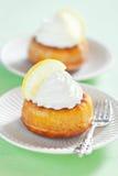 Lemon savarin Royalty Free Stock Photo