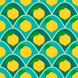 Lemon seamless background. Royalty Free Stock Photos