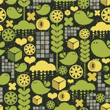 Lemon seamless pattern. Royalty Free Stock Image