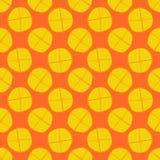 Lemon seamless pattern - vector fruit texture Stock Photo