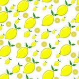 Lemon seamless pattern Royalty Free Stock Photography