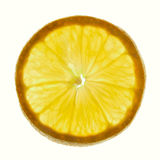 Lemon section Stock Photography