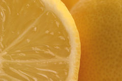 Lemon Segments Royalty Free Stock Photos