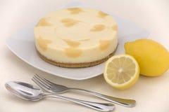 lemon, sernik Zdjęcie Royalty Free