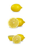 Lemon set Royalty Free Stock Photography
