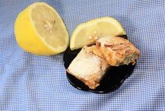 Lemon shortbread Royalty Free Stock Photography