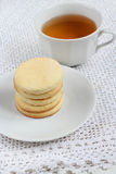 Lemon shortbread Royalty Free Stock Photo