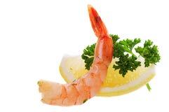 Lemon shrimp Stock Photography