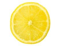 Lemon Slice. Isolated on white background stock image