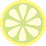 Lemon slice Stock Photography
