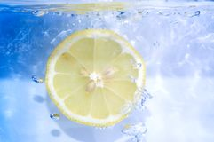 Lemon slice Stock Image