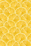 Lemon Slice Abstract Seamless Pattern Stock Images