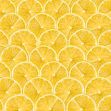 Lemon Slice Abstract Seamless Pattern Royalty Free Stock Photos