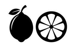 Free Lemon Slice Vector Icon Stock Photography - 93339342
