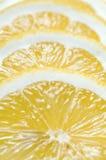 Lemon sliced macro Royalty Free Stock Photos