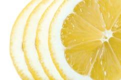 Lemon sliced macro Royalty Free Stock Photography