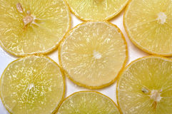Lemon slices Royalty Free Stock Photography