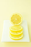 Lemon slices Royalty Free Stock Photo