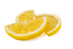 Lemon slices Royalty Free Stock Photos