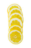 Lemon slices Royalty Free Stock Images