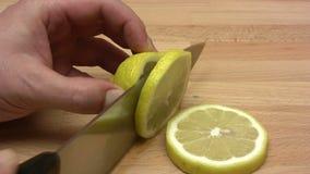 Lemon Slices stock video footage