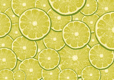 Lemon slices. Lot of isolated lemon slices background for yor business Stock Photos