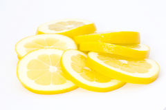 Lemon slices Stock Image