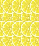Lemon Slices Background Stock Photos