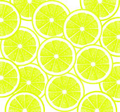 Lemon Slices Background Design Royalty Free Stock Photo